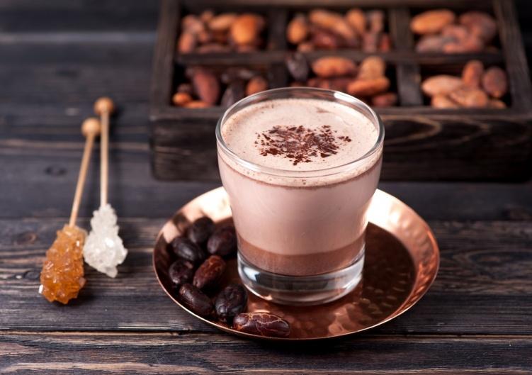 Со сливками и какао