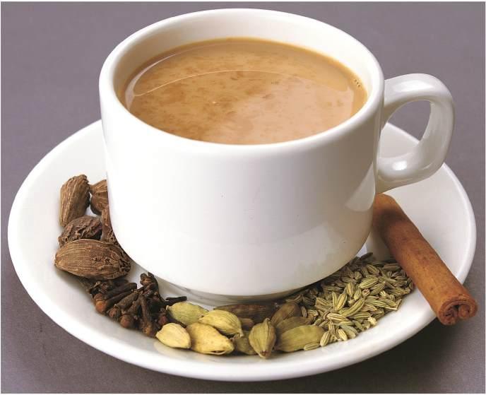 Вкусный чай масала