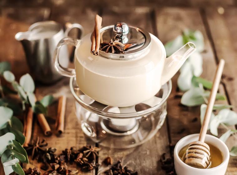 Приготовление чая масала
