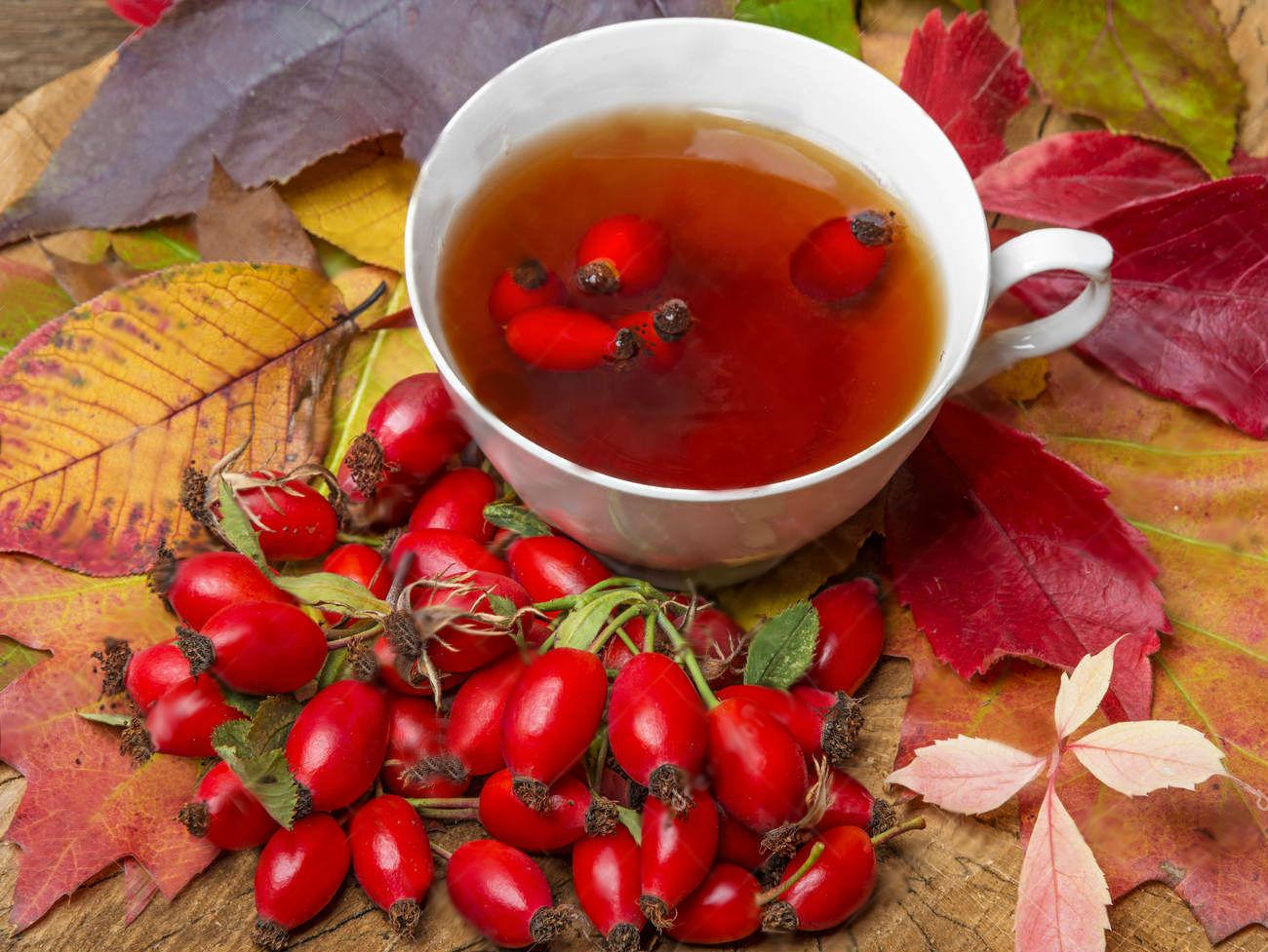 Классический чай с шиповником