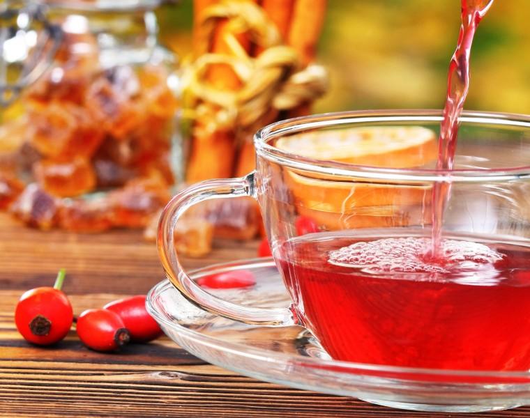 Чай и шиповник