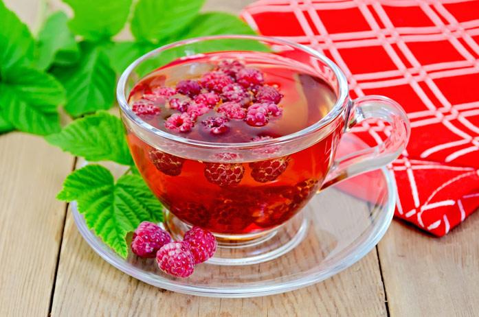 Чай и малина