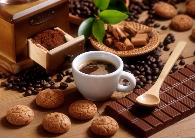 Кофе с добавлением шоколада