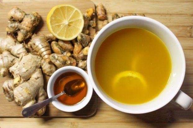 Чай с имбирный в домашних условиях 224