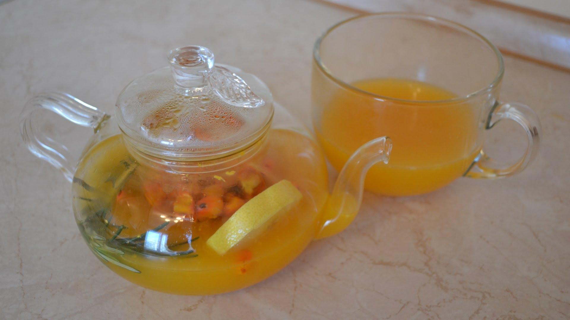 Имбирно-облепиховый чай